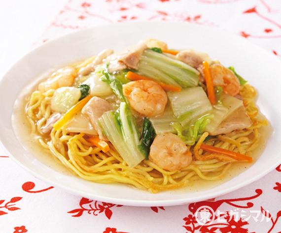 白菜のあんかけ焼きそばのレシピ 作り方 和食がいっぱい ヒガシマル